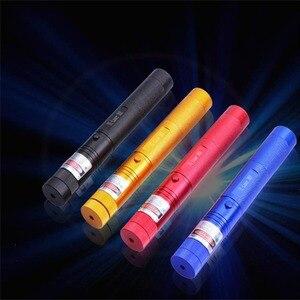 Image 5 - 2 adet yeşil ışık lazer kalem 500 metre lazer ışık cihazı 50MW yıldız lazer kalem fener 4 adet renk seçim için