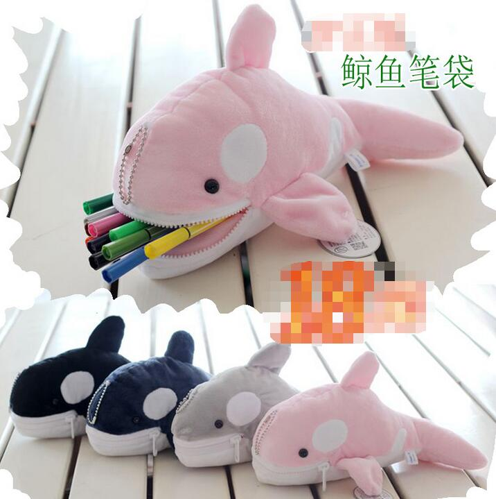 Candice guo plush toy stuffed doll whale Zero wallet case little package stationery student pencil bag baby birthday gift 1pc candice guo nici plush toy stuffed doll cute cartoon animal little fairy ayumi be you girl theme bedtime story birthday gift 1pc