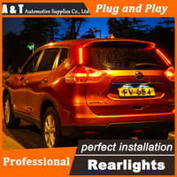 Car Styling LED Tail Lamp For Nissan X Trail Taillights 2014 Rouge Rear Light DRL Turn