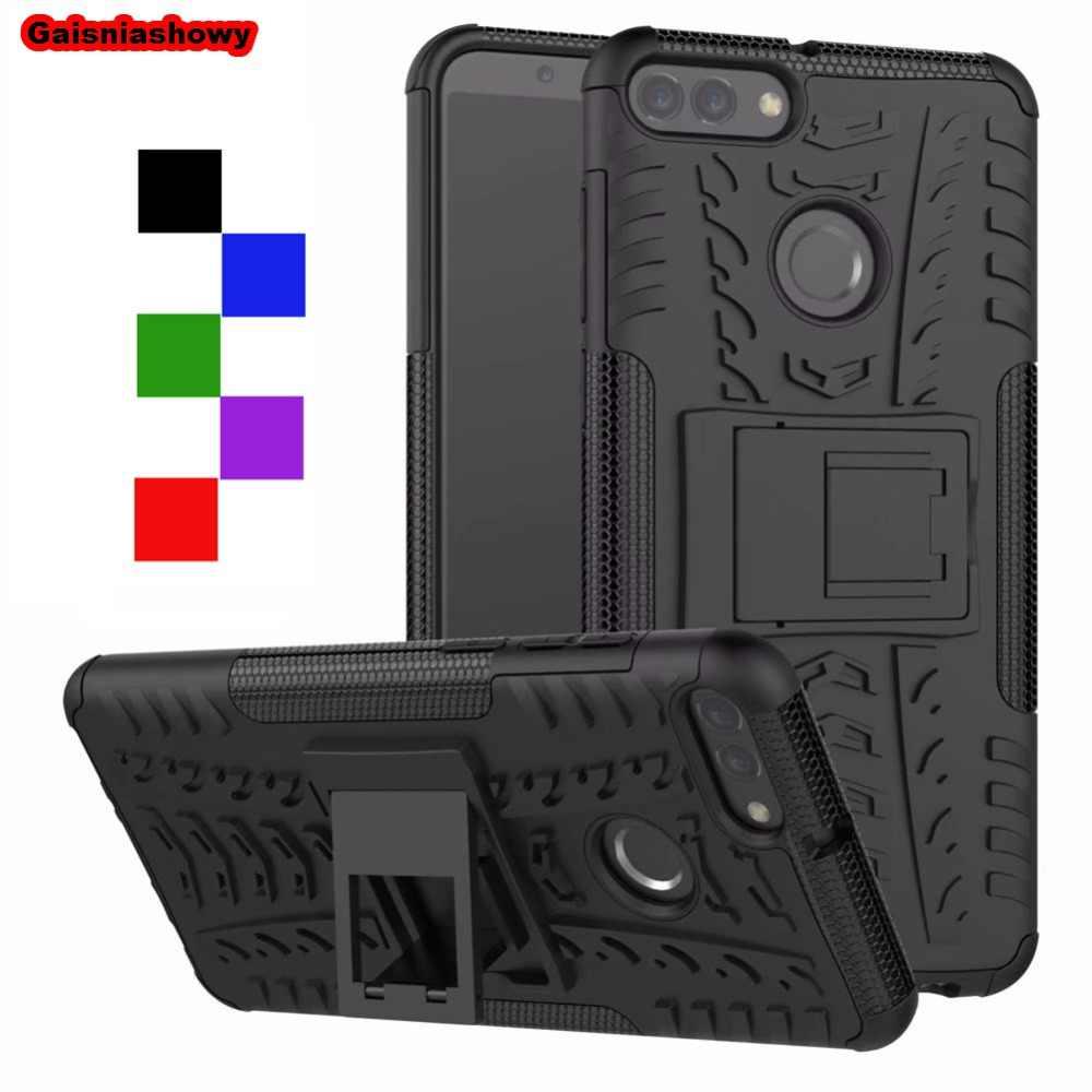 Shockproof Armor Case For Huawei P Smart Y5 Y6 Y7 Y9 2018 P8 P9 P10 2017 P20 Mate 9 10 20 Nova 2i 3i 3e Plus Lite Pro Case Cover