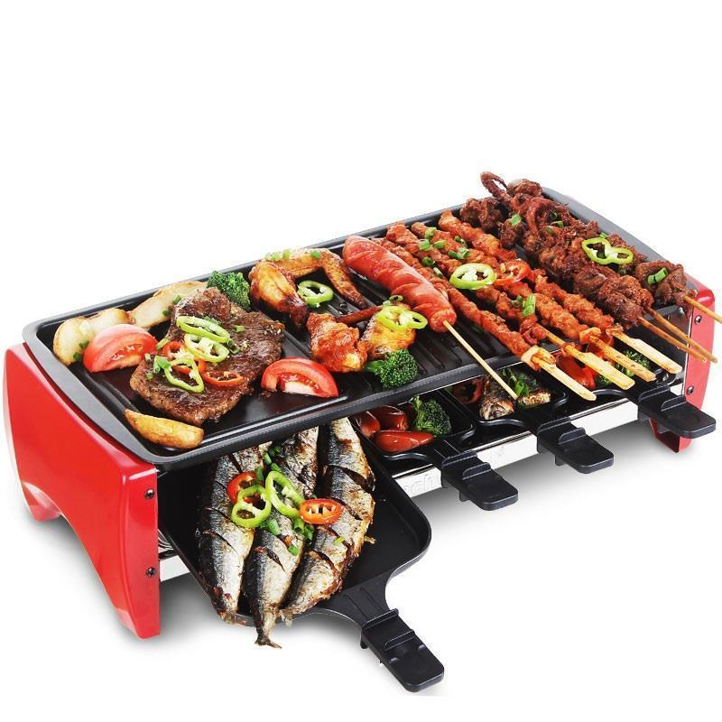 Raclette Mini Plate Fire Pit Gril Para Grelha Outdoor Kamado Camping Barbecue Churrasco Barbacoa Churrasqueira Bbq Grill in BBQ Grills from Home Garden