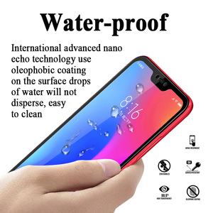Image 5 - Protective glass on for Xiaomi redmi note 6 pro 6a a tempered glas ksiomi xiomi a6 6pro Screen Protector flim safety sheet armor