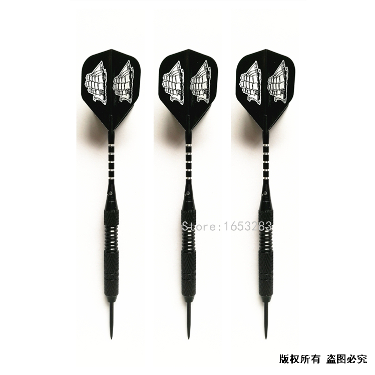High Quality 24g Steel Tip Nylon/Plastic Shaft Darts 3 Pieces Dart 2BA Thread