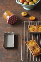 13 Inch Shelf Champagne Non stick Cooling Rack Cake Bread Biscuits Cool Drying Net Rectangular Baking Grill