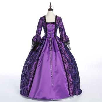 Century Vintage Purple Ball Victorian Gothic Lolita dress/Civil War Southern Belle Halloween Dresses
