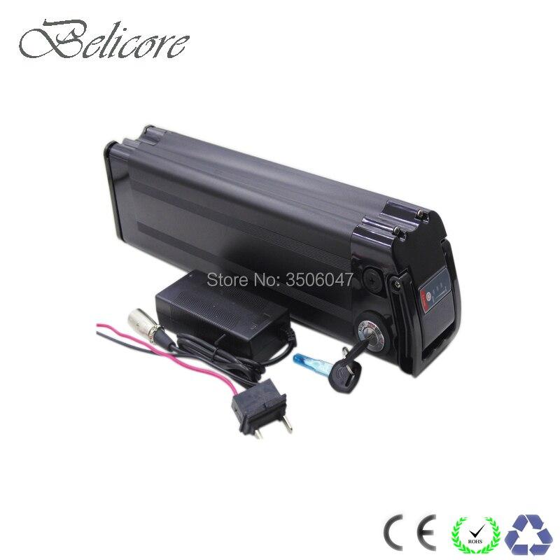 48 volt electric bike battery 48v 12ah silver fish ebike batetry 48 volt 12 5ah lithium