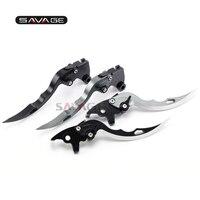 Knife Blade Brake & Clutch Levers For KAWASAKI VN1500 Vulcan VN 15 1988 1999 Motorcycle CNC Long Motor Bike Accessories