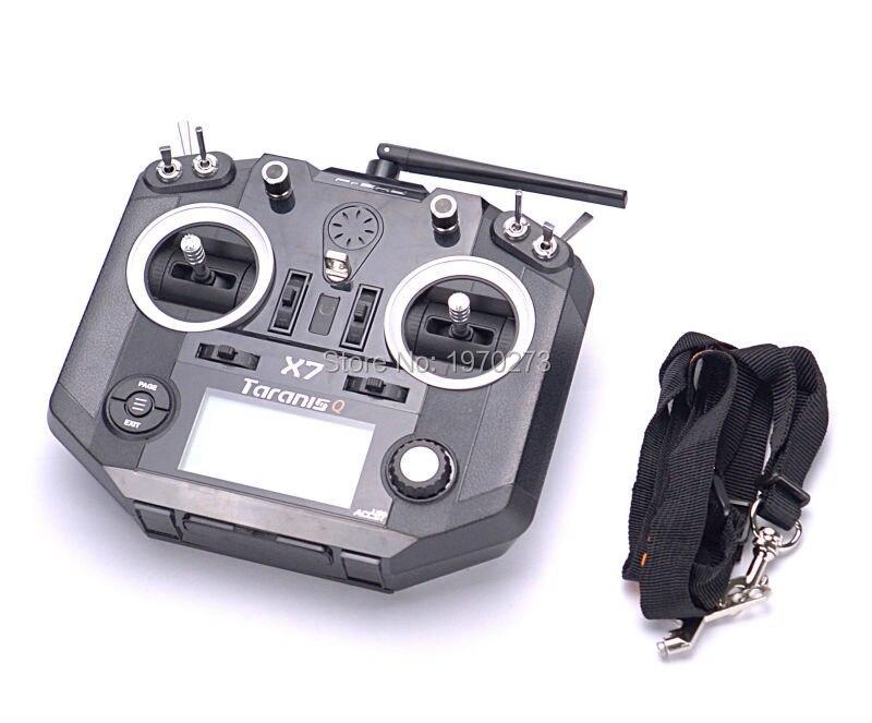 عالية الجودة FrSky ACCST Taranis Q X7 QX7 2.4 جيجا هرتز 16CH الارسال دون استقبال ل RC Multicopter وضع 2-في قطع غيار وملحقات من الألعاب والهوايات على  مجموعة 1