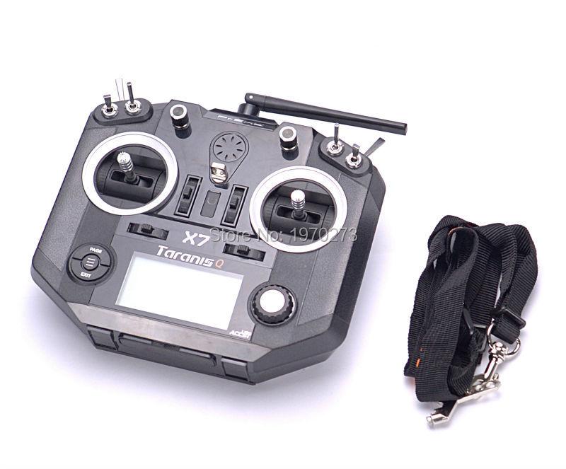 Hoge Kwaliteit FrSky ACCST Taranis Q X7 QX7 2.4 ghz 16CH Zender Zonder Ontvanger Voor RC Multicopter Modus 2-in Onderdelen & accessoires van Speelgoed & Hobbies op  Groep 1