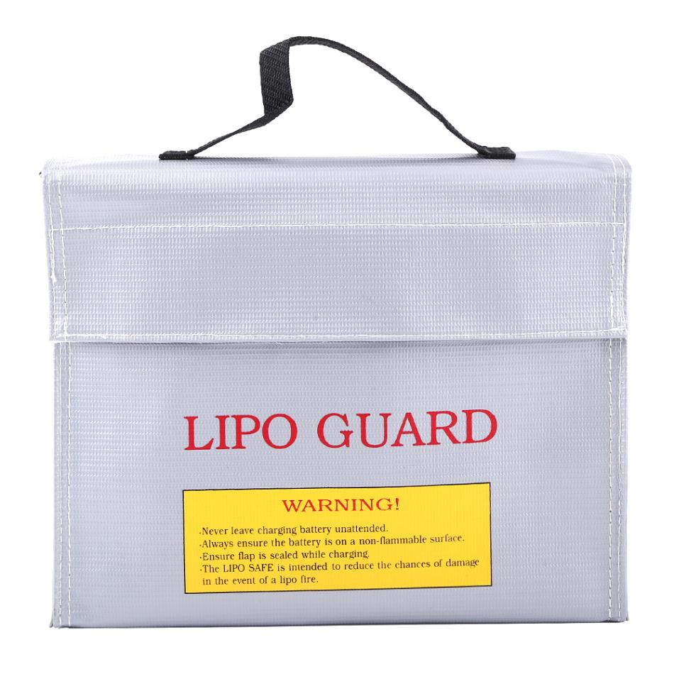 1Pc Explosion-proof Lipo Guard Charging Protection Battery Safe Bag Fire Resistant Pouch Lipo Safe Bag Explosion-Proof Bag