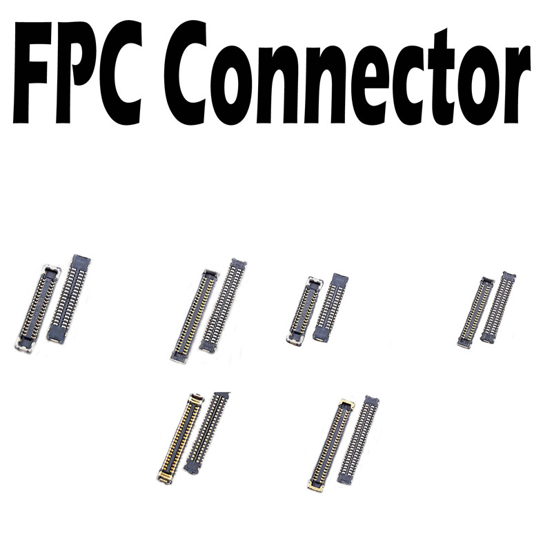 New Touch LCD Display FPC Connector For IPhone 5 5G 5S 5C 6G 6S 6 Plus 6S Plus Display Board Connector On Motherboard Mainboard