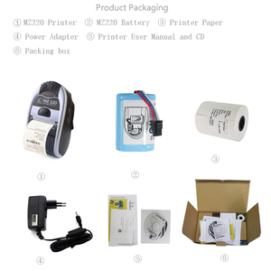 """Image 5 - 5set/1 lote nuevo MZ220 impresora MZ 220 originales 2 """"directo de red móvil impresora térmica de recibos con Bluetooth 203 dpi"""