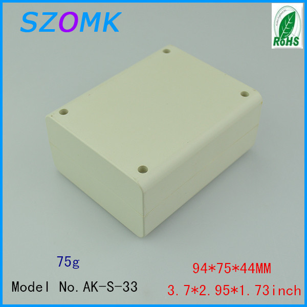 5 pieces a lot innovative electronic products 94*75*44mm 3.7*2.95*1.73inch plastic box electronics