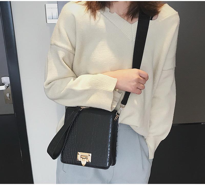 DIINOVIVO Fashion Alligator Female Handbags Designer Crossbody Bags for Women Small Square Bag Shoulder Messenger Purse WHDV0917 8