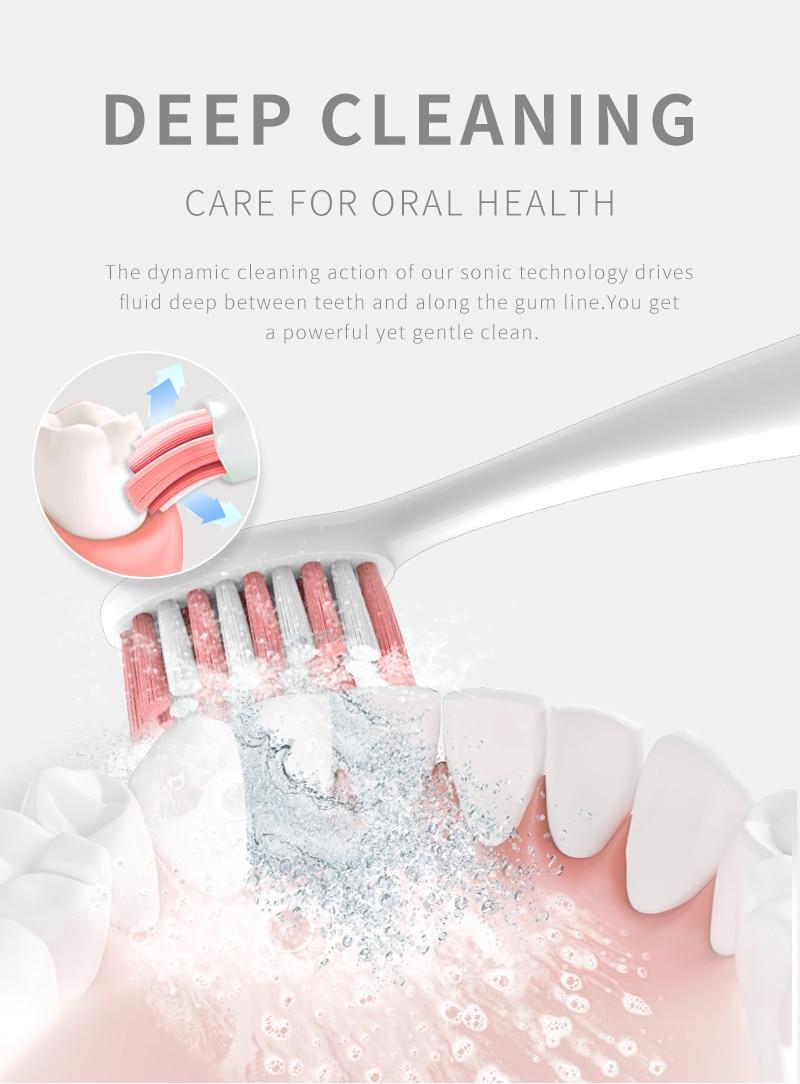электрическая зубная щетка seago sonic sg987