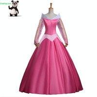 CosplayLove Sleeping Beauty Cosplay Kid Adult Briar Rose Princess Aurora Dress Cosplay Costume Custom Made With Cloak