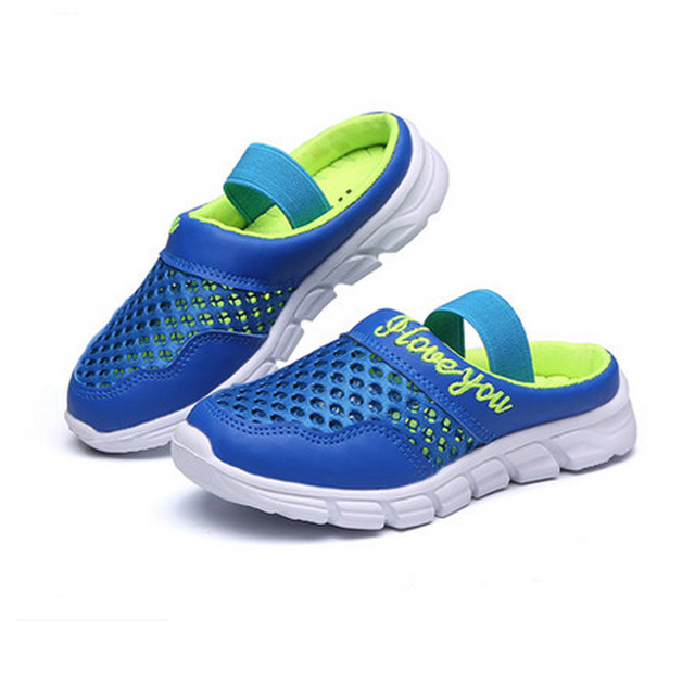 8881737575304 COZULMA Kids Beach Sandals Boys Girls Summer Slippers Shoes Children Closed  Toe Air Mesh Designer Toddler Sandals Size 26-36