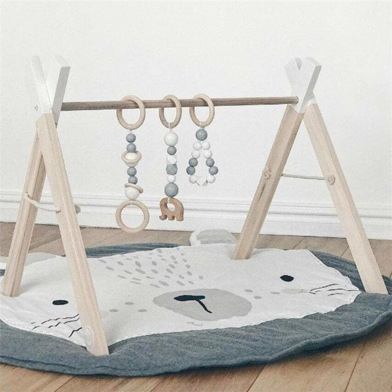 Baby play Mats Animal climbing carpet infant Crawling Blanket Round Carpet Rug Toys Mat For Children Room Decor Photo Props