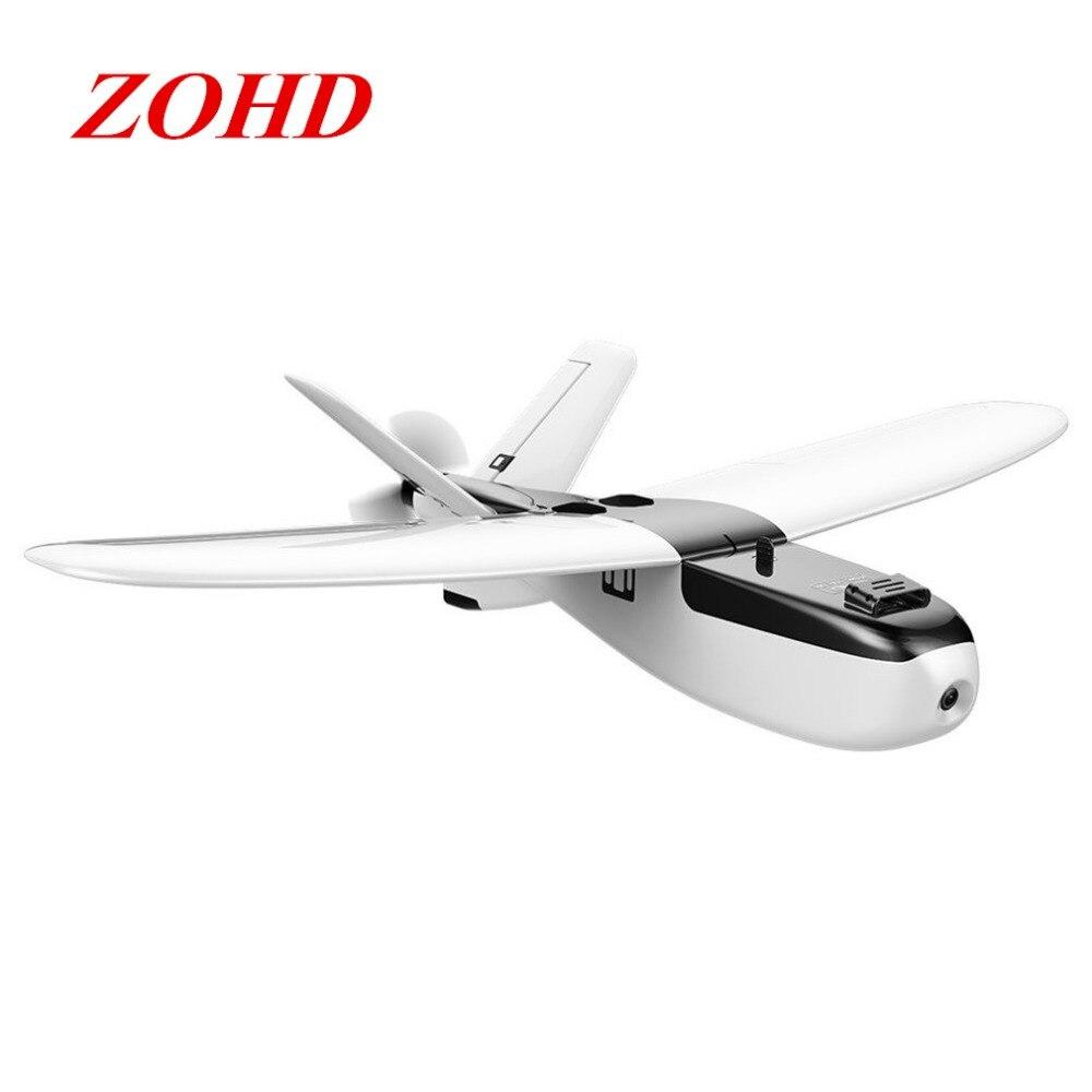 ZOHD Nano Talon 860mm Wingspan Detachable AIO HD V-Tail EPP RC KIT PNP FPV Plane Airplane With Gyro Built-in Stabilizer цена