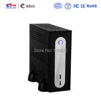Realan G3 SGCC Mini ITX Computer Case With Power Supply HDD WIFI USB COM Fan Silver