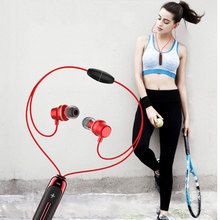 цена на BT-315 Stereo Bluetooth Earphone Sports Wireless Headset Magnetic In Ear Bass Blutooth Earphones With Mic For Mobile Phone