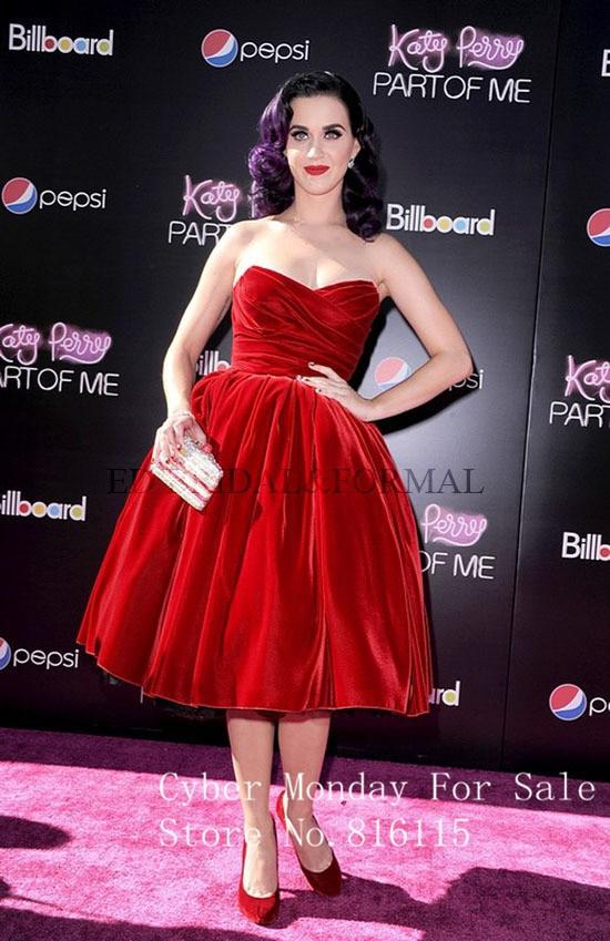 Кэти перри красное