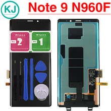 Nota originais 9 Display LCD Para Samsung Galaxy Note9 N960 N960F Nova LCD Screen Display Toque Digitador Assembléia(China)