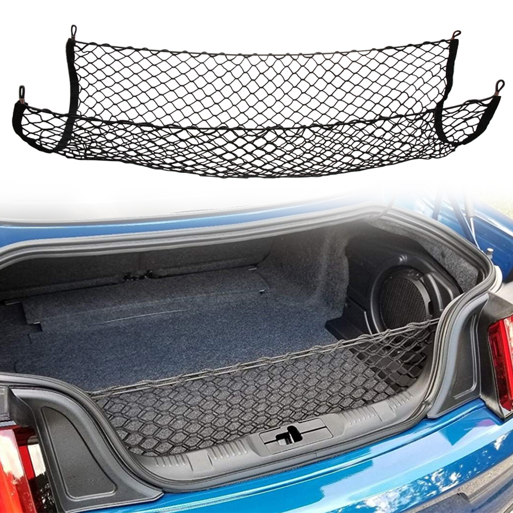 Trunk Cargo Organizer Storage Mesh Net Holder FOR corolla jaguar xf dodge ram 1500 camry 50 mazda 6 passat b5 kia optima-in Car Tax Disc Holders from Automobiles & Motorcycles