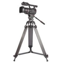 Jie Yang professional JY0606C Aluminum Professional Tripod for camera stand / DSLR video tripods / Fluid Head Damping