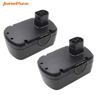 2PACKS 18V 2000mAh Ni CD BP91001 Rechargeable Battery for Earthwise CPS40008 CST00012 CHT10122 CB20018 L10