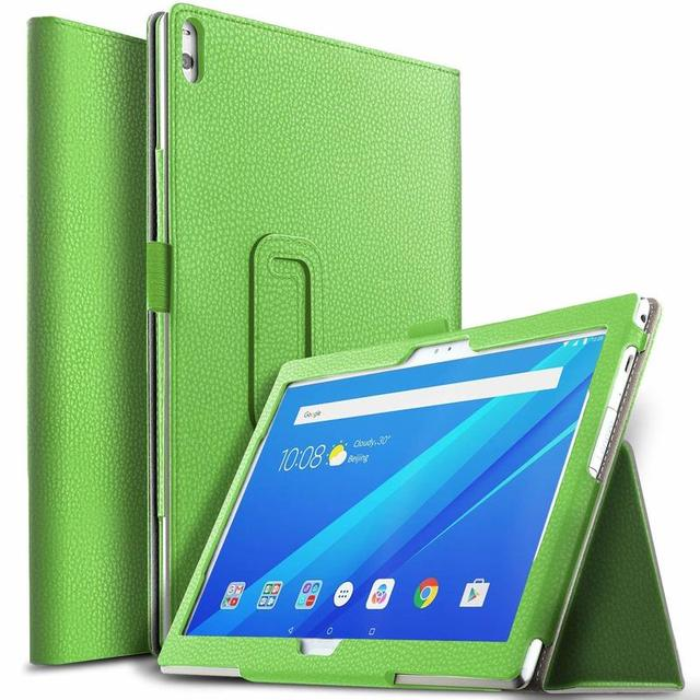"""Case for Lenovo Tab 4 10 TB-X304F X304L X304 PU Leather Tablet Cover Stand Capa for Lenovo TAB4 10.1"""" Plus TB-X704F/L Flip Cover"""