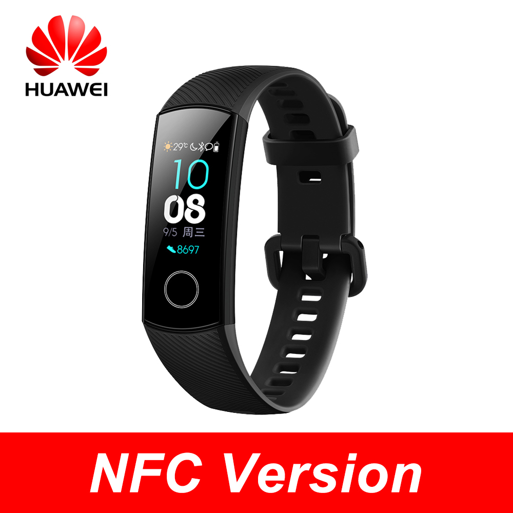 Huawei Honor Band 4 nfc version Smart Bracelet 50m Waterproof Color ouch screen Heart Rate Sleep