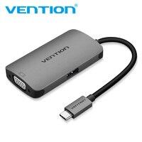 Vention USB C HUB To HDMI VGA Adapter USB Type C 3 1 To USB 3