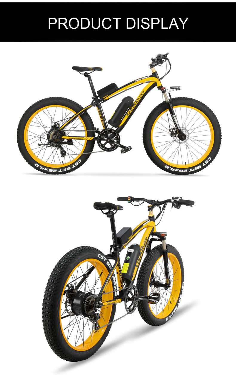 HTB1KsPEcMaTBuNjSszfq6xgfpXaO - 1000W Pedal Help Electrical Bicycle Males's E-bike 26'' Fats Snow Bike 48V 10Ah Lithium-Ion Battery, Hydraulic Disc Brake