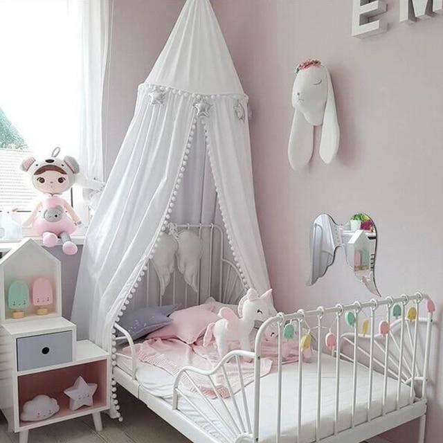Baby Bed Tent Baby Decor Infant Mosquito Net Baby Cot Bedroom Outdoor Staff  Toddler Children Crib