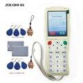 Più nuovo Inglese Palmare Macchina Chiave i-Copia 3 con il Pieno di settori Funzione di Decodifica Carta di NFC Macchina Chiave RFID Copier + 30 pcs tag