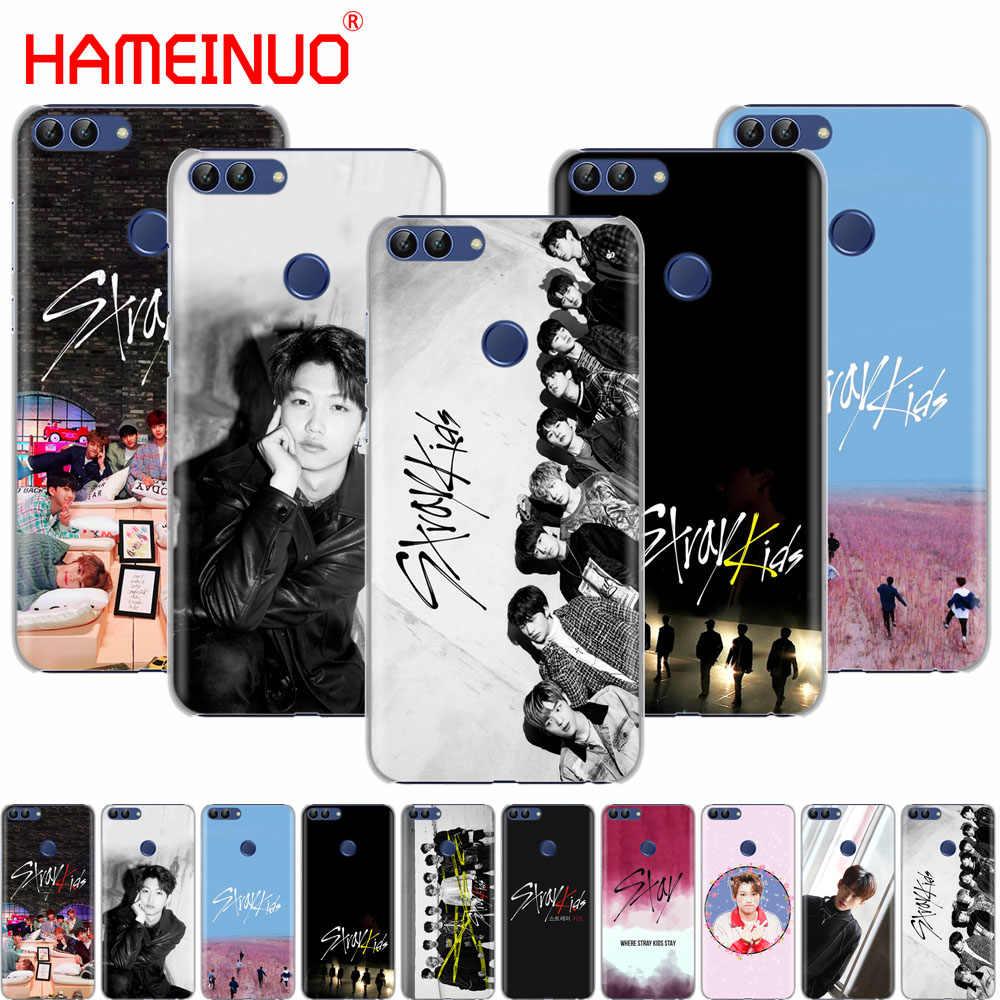 HAMEINUO 浮遊子供たち K ポップ携帯電話のカバーケース huawei 名誉 Y5 7C Y625 Y635 Y6 Y7 Y9 2017 2018 プライムプロ