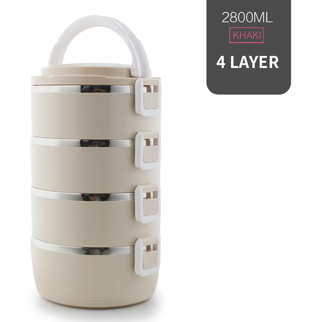 4 Layer Beige Cheap bento boxes 5c6479e2ef006