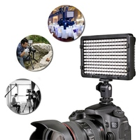 Smuxi Portable 176 LED Video Digital Photography Lighting Flash Fill Light Lamp with 2 Filter For Sony DSLR Camera Camcorder
