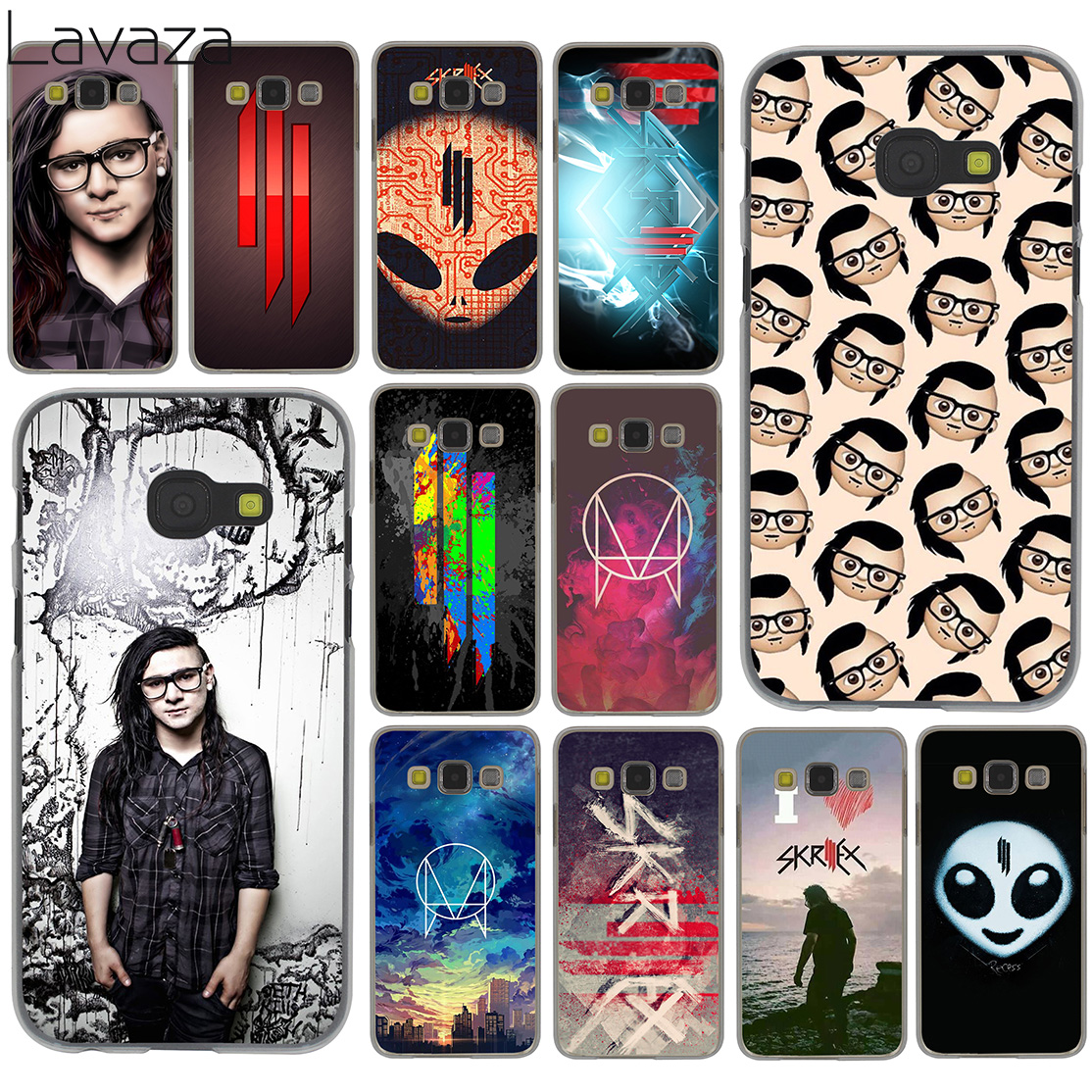 Lavaza skrillex Music dj Hard Case for Samsung Galaxy A3 A5 A7 A8 2015 2016 2017 2018 Note 8 5 4 3 2 Grand Prime