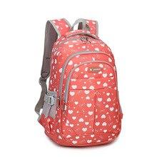 Школьный рюкзак для девочки-подростка Mochila Feminina Для женщин Рюкзаки нейлон Водонепроницаемый Повседневное ноутбук Bagpack Женский мешок сделать
