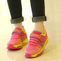 Evitar escorregadio absorver o suor desodorante antibacteriano pai-filho sapatos 2017 tênis de corrida dos esportes das crianças lazer menino tênis