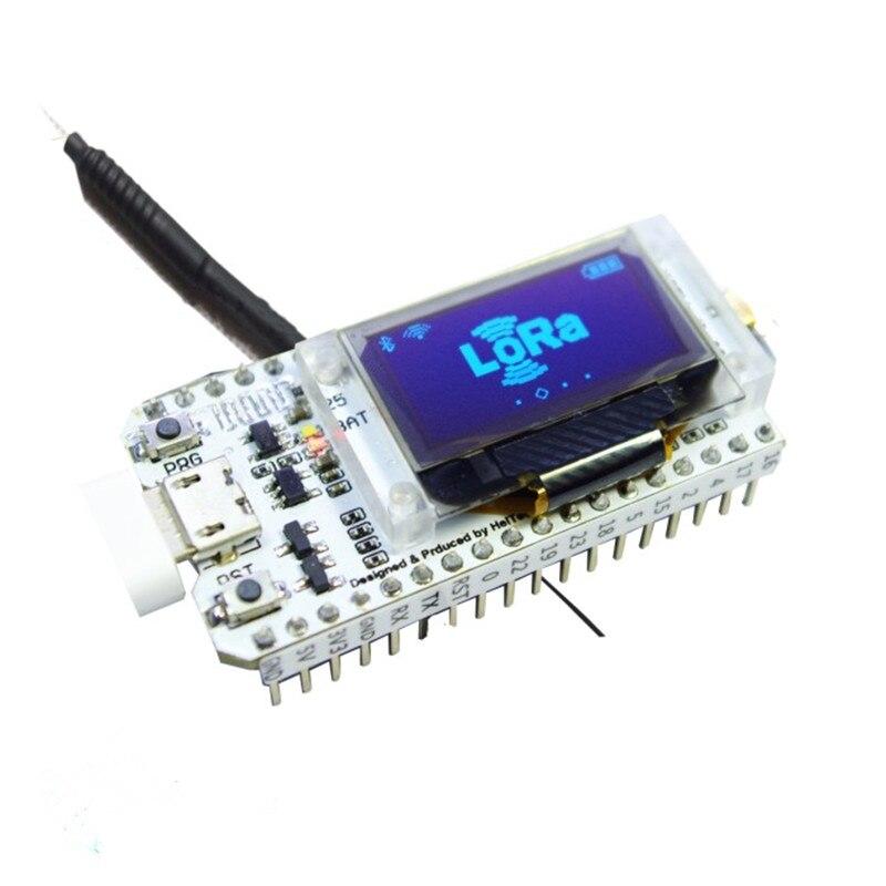 868MHz 915MHz ESP32 SX1276 LoRa 0 96 Inch Blue OLED Display Bluetooth WIFI Lora Kit 32