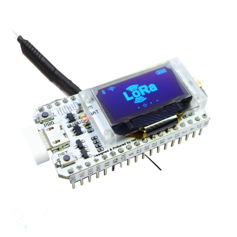 868MHz/915MHz ESP32 SX1276 LoRa 0.96 Inch Blue OLED Display Bluetooth WIFI Lora Kit 32 Module IOT Development Board for Arduino