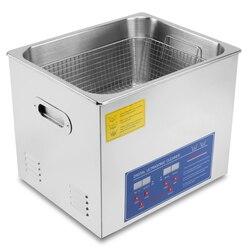 15L Pro Digital Ultrasonic Cleaner Cleaning Jewellery Bath w/ Heater Tank Timer