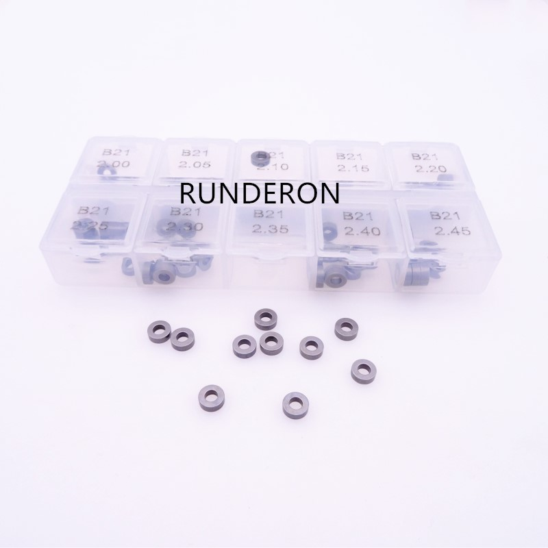 100pcs Washer Shim B21 Size 2 00 2 45 Diesel Common Rail Parts Fuel Injector Repair