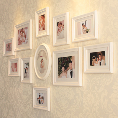 European Style Wood Frame Photo Wall Creative Combination Of Stylish Home Decor Wedding Decoration In From Garden On Aliexpress
