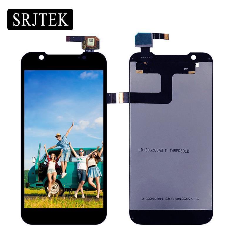 Srjtek 4.5 For ZTE U985 LCD Display Touch Screen Digitizer Sensor Assembly For ZTE Grand Era U985 V985 Grade X Pro Black