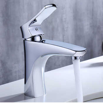Micoe New Basin Faucet Bathroom Basin Taps Basin Mixer Waterfall Bathroom Chrome Cold And Hot Water Tap Deck Mounted H-HC215 - DISCOUNT ITEM  50% OFF All Category
