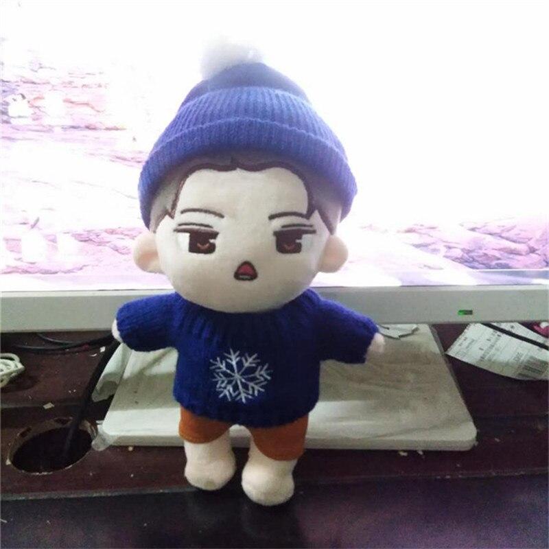 [MYKPOP] Kpop Korean Star Fashion EXO SEHUN Plush Toy Soft Doll Animal Stuffed Toy For Sehun Fans SA18040802